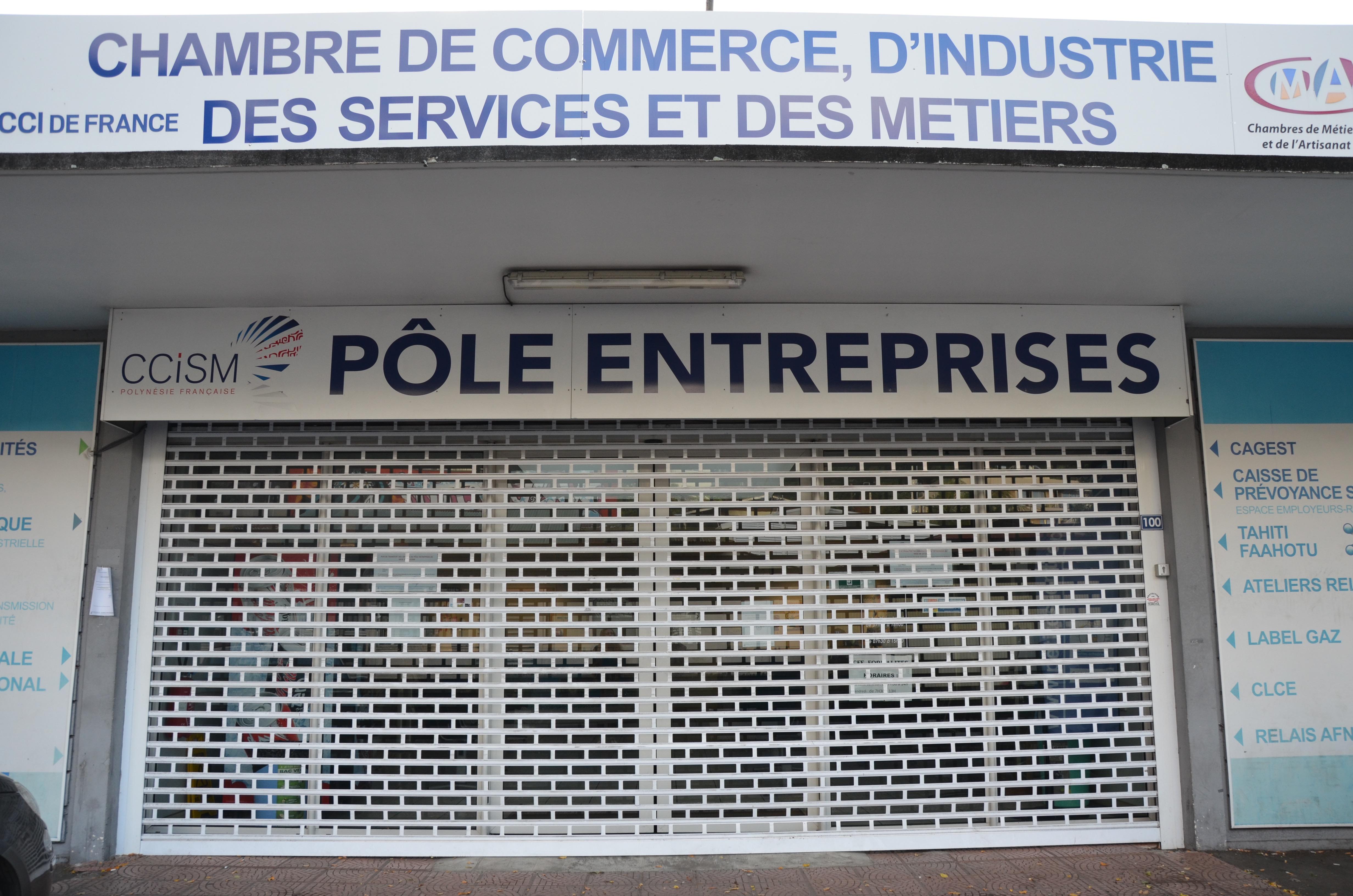 Transfert des services du p le entreprises au si ge de la for Chambre de commerce francaise en chine