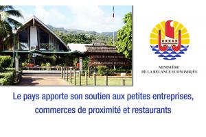Dispositifs d'aides pour les petites entreprises, les commerces de proximité et les restaurants