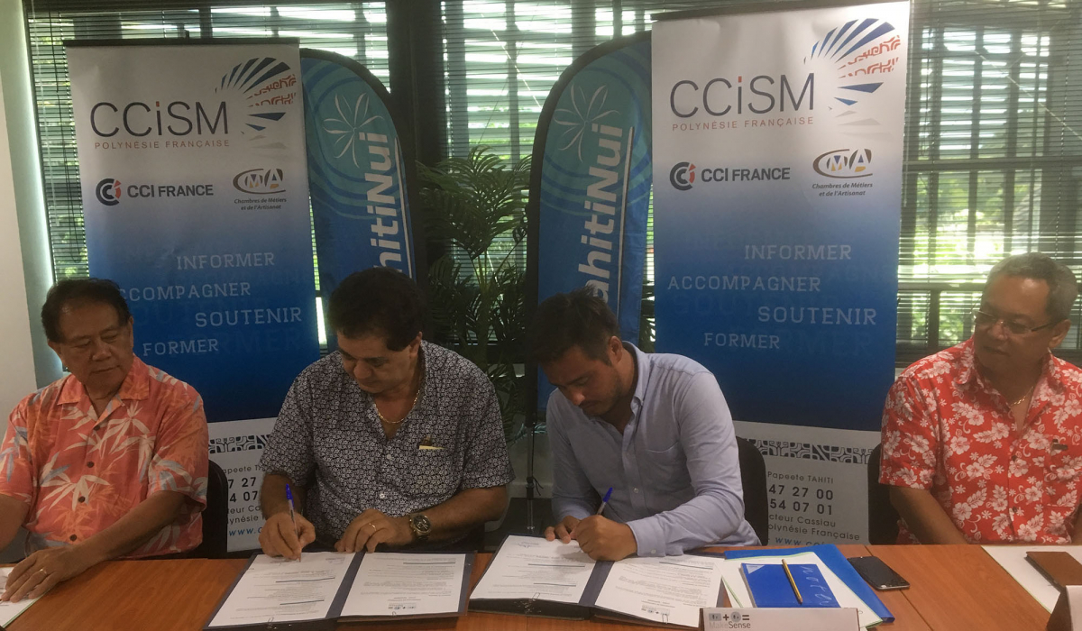 Signature de la convention pour l'incubateur PRISM