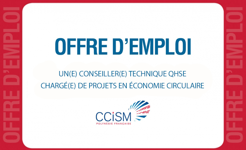 La ccism recrute ccism for Chambre de commerce francaise en chine