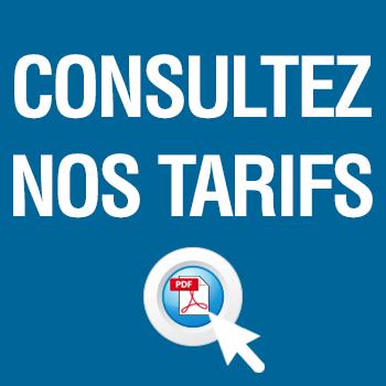 Consultez nos tarifs en ligne