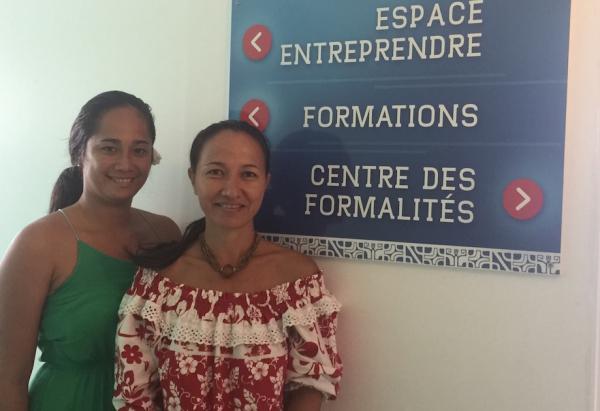 Patricia et Ainea vous accueillent à la CCISM de Raiatea