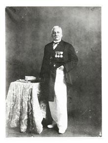 Victor RAOULX, premier président de la CCISM en 1880