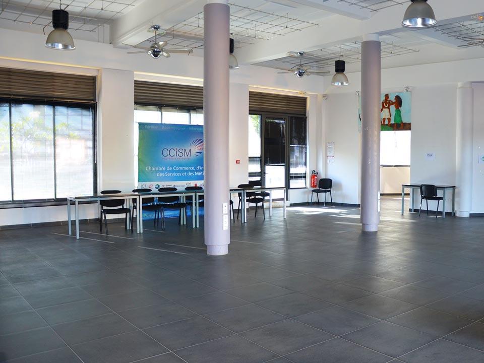 Location de salles : Hall de la CCISM