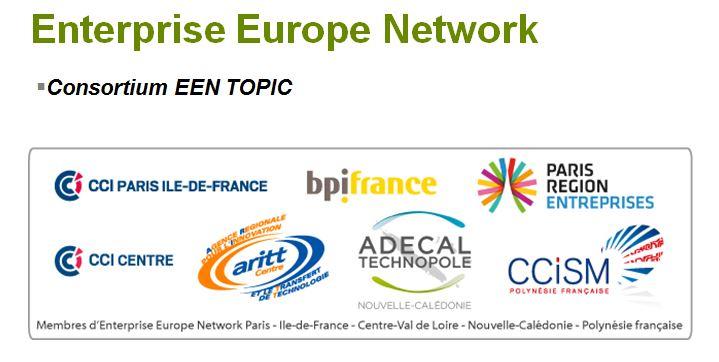 La CCISM a rejoint en janvier 2015 le consortium EEN TOPIC