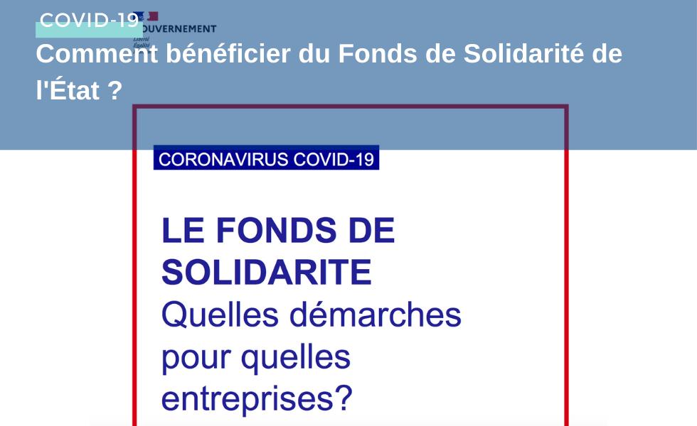 Comment bénéficier du Fonds de Solidarité de l'État ?