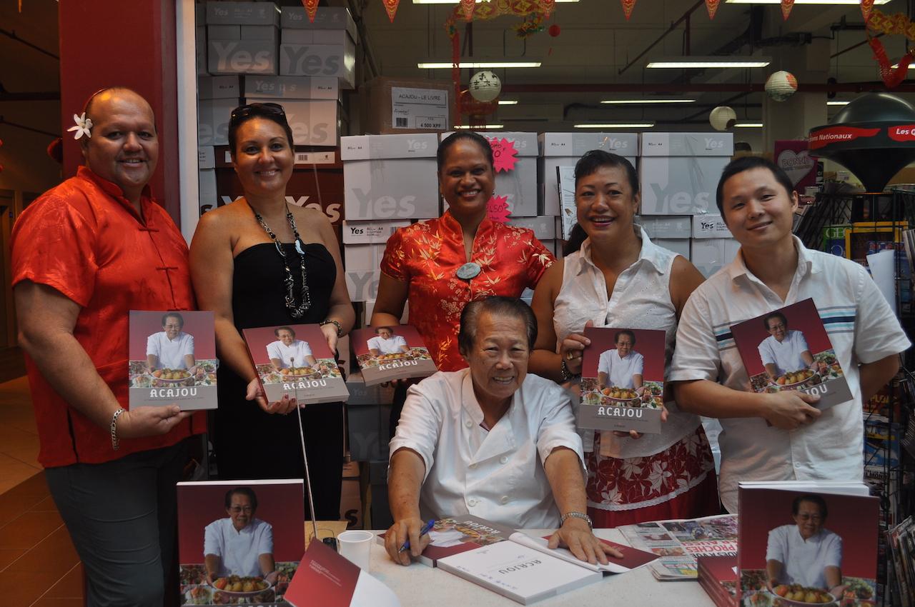 Jour de l'an chinois à Taravao