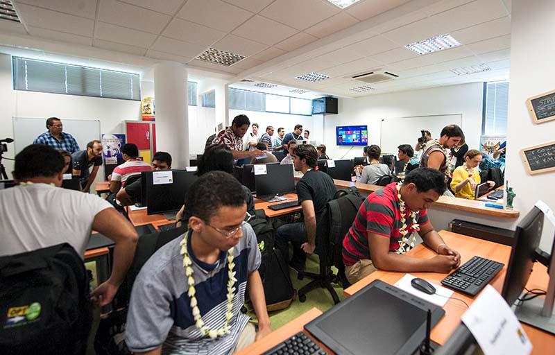 Le studio de production de Poly3D à l'Université Consulaire des Métiers CCISM