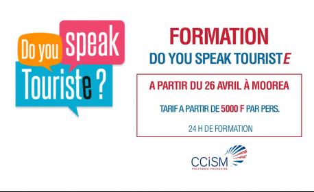 Formation pour tous les professionnels du tourisme 'do you speak touriste' à Moorea