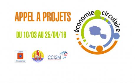 Actualité - Appel à projets Economie Circulaire