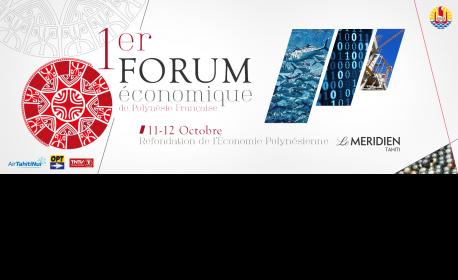 Le 1er forum de l'économie du fenua