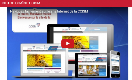 Le nouveau site de la CCISM